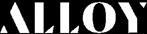 the alloy text logo